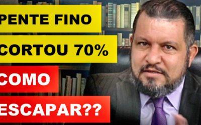 PENTE FINO CORTOU 70% ! COMO ESCAPAR (INSS)