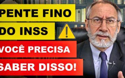 PENTE FINO (INSS) – 15 COISAS QUE VOCÊ PRECISA SABER!