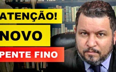 ATENÇÃO – NOVO PENTE FINO DO INSS